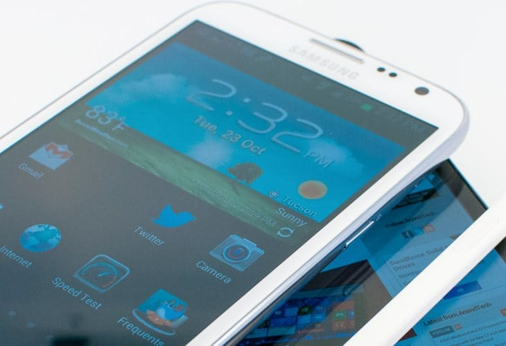 Galaxy Note 3 size could border 6 inches