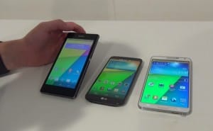 Galaxy Note 3 vs. Sony Xperia Z1 specs, first look