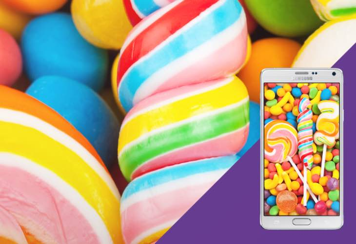 Galaxy Note 4 Android 5.0 Lollipop imminent release fueled