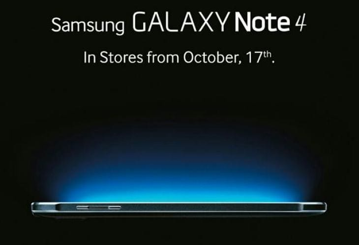 Galaxy Note 4 price in India during Wednesday launch