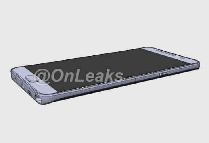 Galaxy Note 5 Edge design