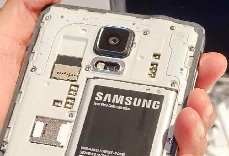Galaxy Note 5 battery size