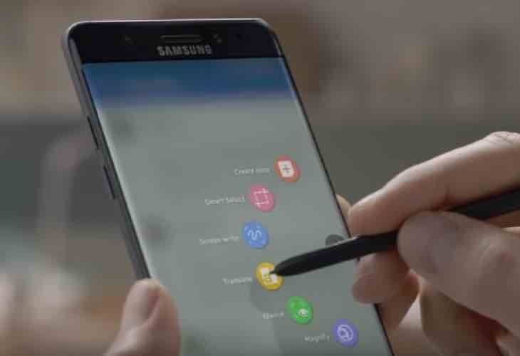 Galaxy Note 7 Stylus shortcomings
