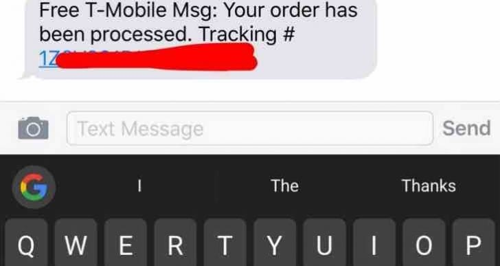 Galaxy Note 7 FedEx, UPS delivery tracking numbers sent