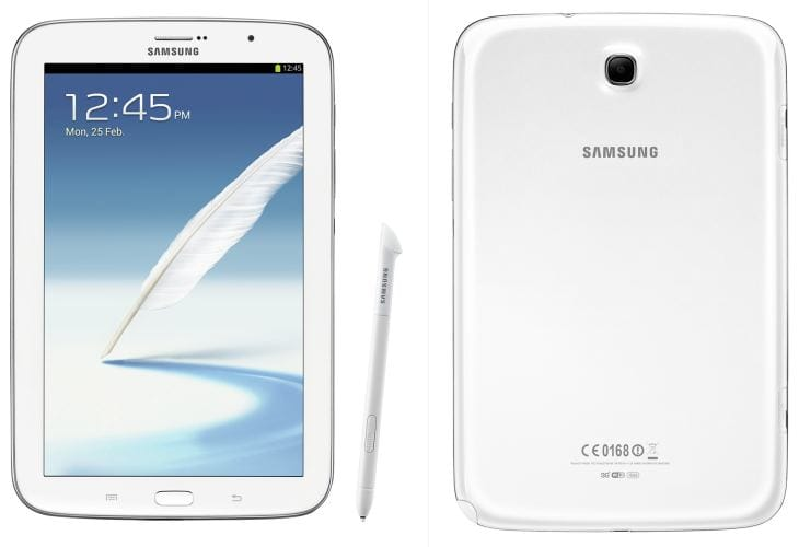 Galaxy Note 8.0 vs. 10.1 and Tab 7 2.0 comparati