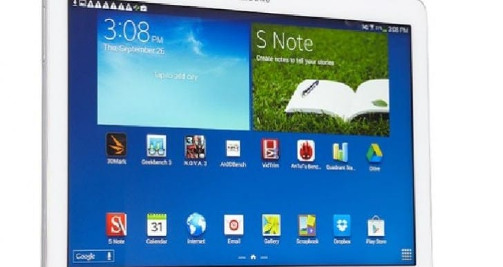 Samsung Galaxy NotePro release commences