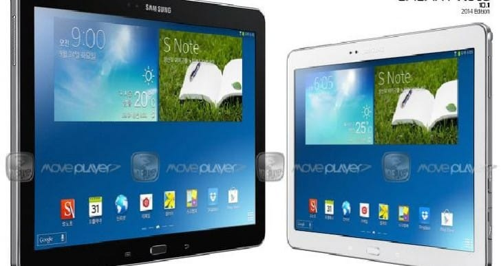 Samsung Galaxy Note & Tab Pro uncovered early at CES 2014
