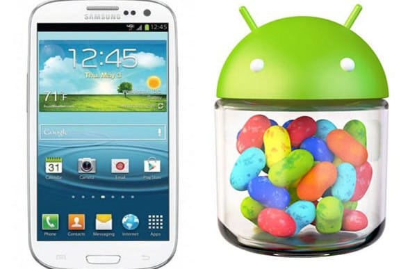 Galaxy S2 Jelly Bean update trials with S3
