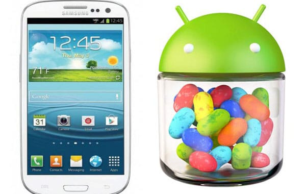 Samsung Galaxy S3 Jelly Bean rolling out this week