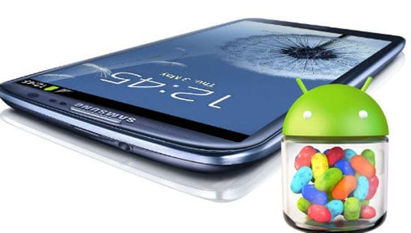 Galaxy S3 Jelly Bean update in 2 days on Vodafone