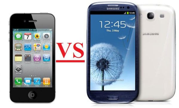 Galaxy S3 vs. iPhone 4S by design stories