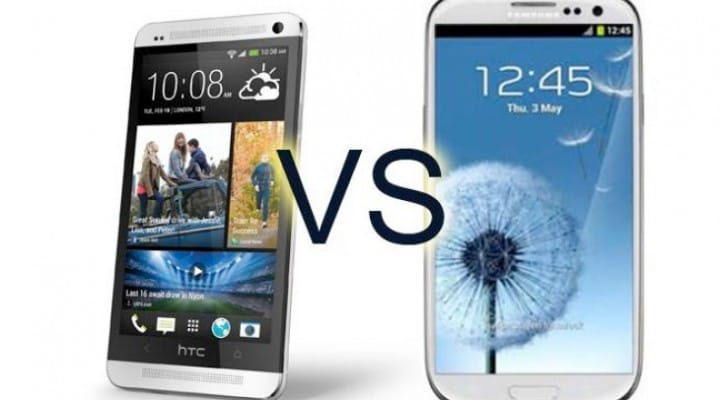 Galaxy S4 vs. HTC One US pre-orders and pricing