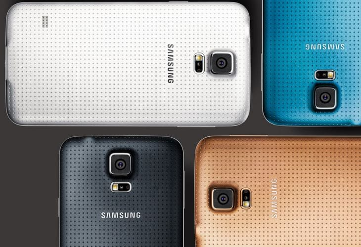 Galaxy S5 UK pre-order joy
