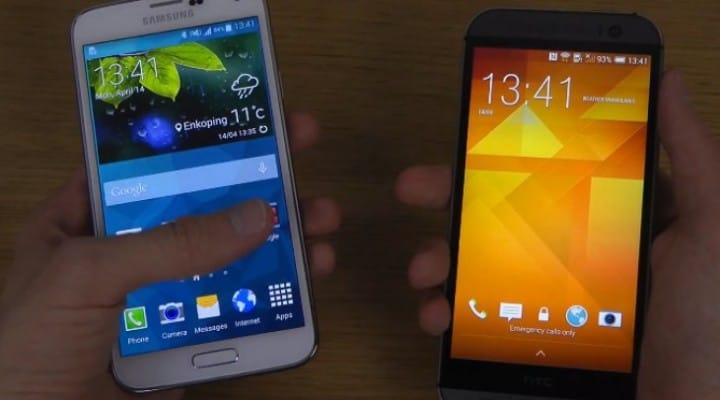 Galaxy S5 vs. HTC One M8 for speediness