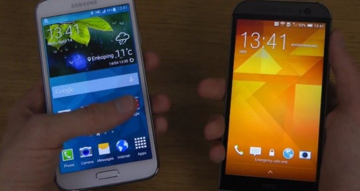 Galaxy S5 vs. HTC One M8 for speediness