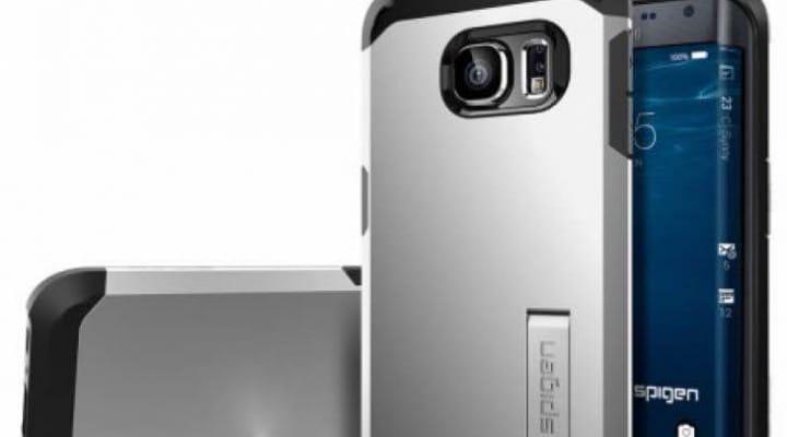 Galaxy S6 Edge Spigen Tough Armor case pre-order