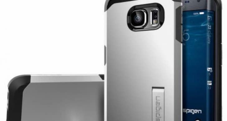 Galaxy S6 Edge Spigen Tough Armor case pre-order