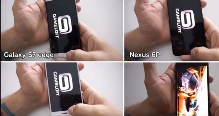 Galaxy S7 Edge Vs Nexus 6P, iPhone 6s Plus for performance