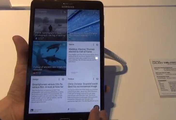 Galaxy Tab Pro romantic release hint