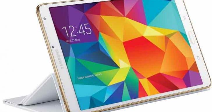 Galaxy Tab S 8.4 LTE Lollipop update live for Verizon
