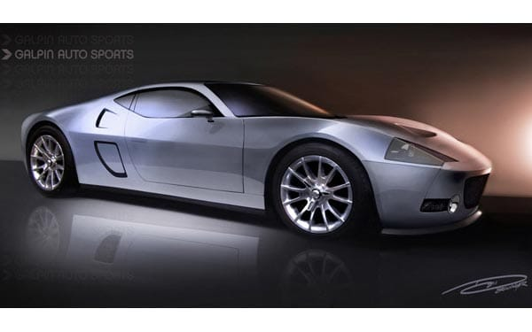 Galpin Auto Sports building GTR-1 supercar based on Ford GT