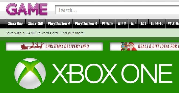 GAME offers UK boost with huge Xbox One Christmas stock