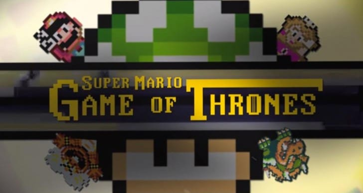 Game of Thrones on Super Mario map