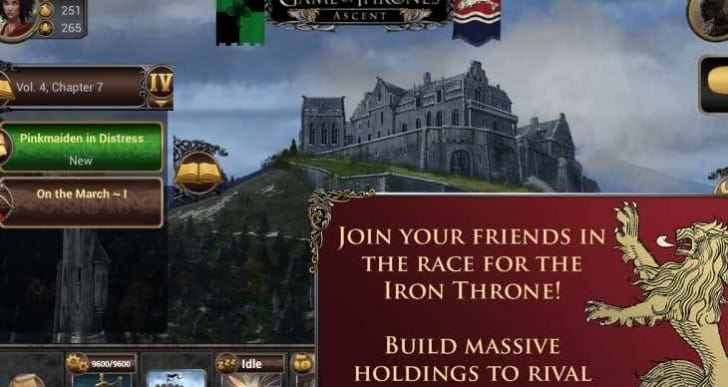 Game of Thrones season 5 release date entices Ascent app update