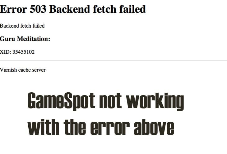 GameSpot-not-working-today