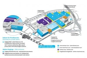 Gamescom 2014 exhibitors and map via app
