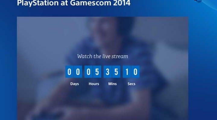Gamescom 2014 live Sony and Microsoft stream