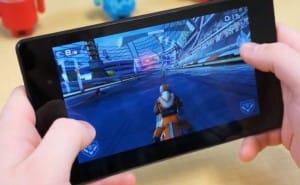 Gaming on new Nexus 7 2