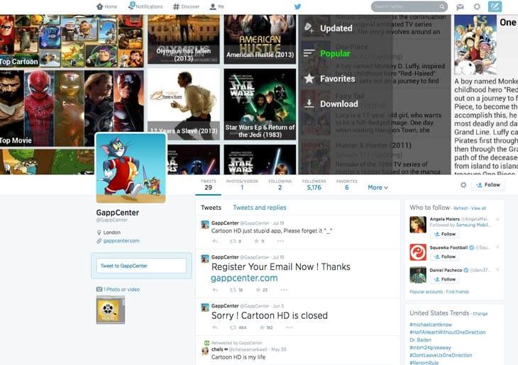 Gappcenter-Twitter