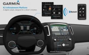 Garmin 3D Nav integrated into Mercedes-Benz concept car
