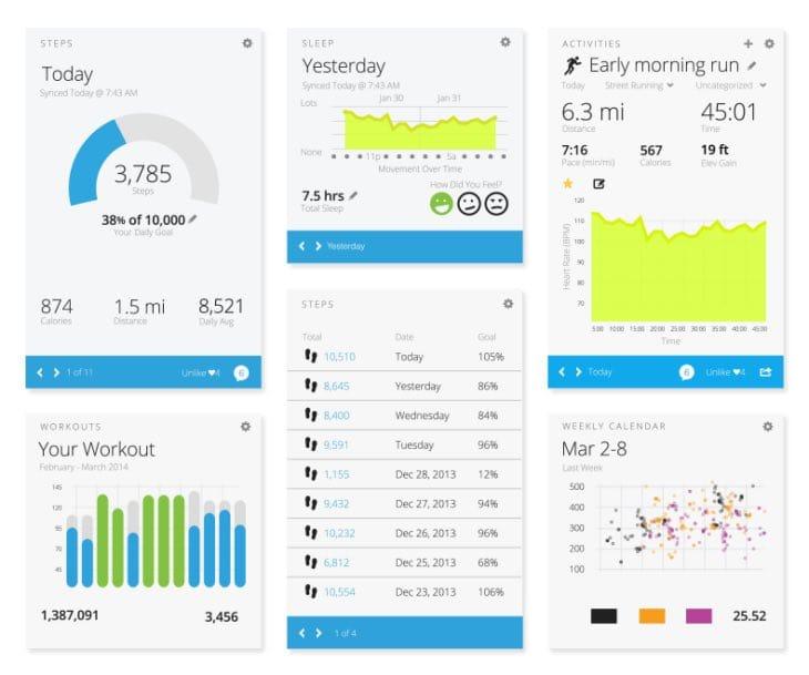 Garmin Vivofit Fitness Watch Connect