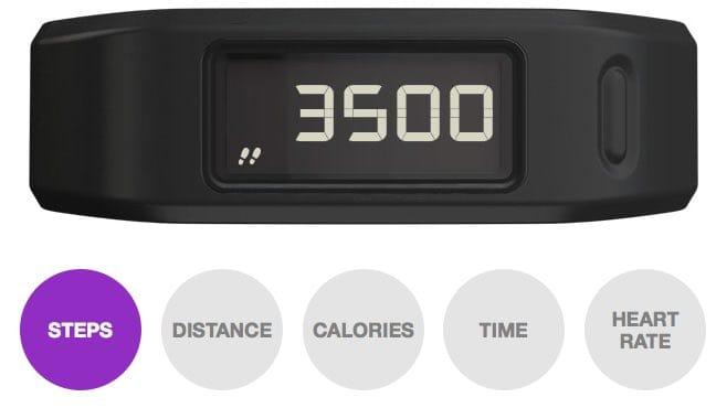 Garmin Vivofit Fitness Watch display