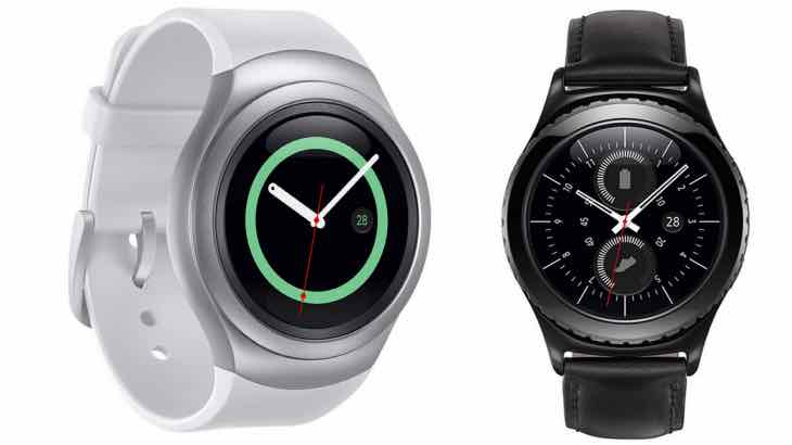Gear S2 during Samsung 2015 IFA live stream