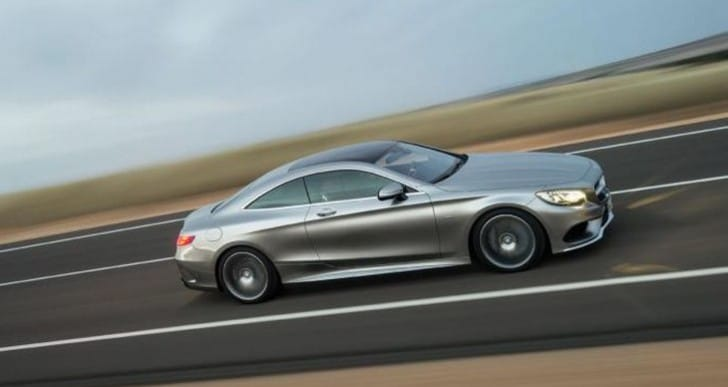 Geneva Motor Show 2014: Mercedes S-Class Coupe unveiled