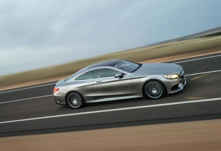 Geneva Motor Show 2014 New Mercedes S-Class Coupe unveiled