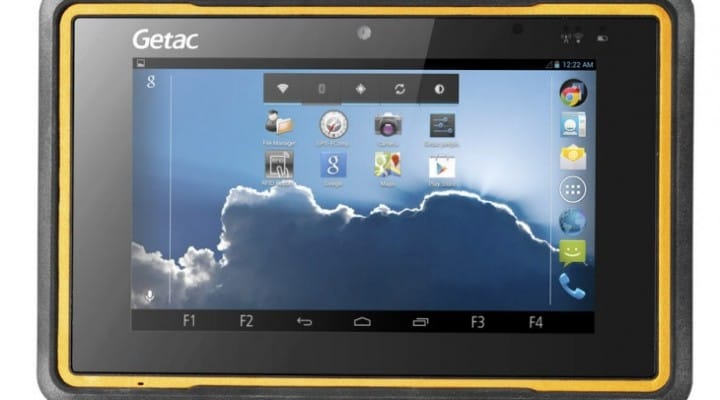 Getac Z710-EX, best rugged Android tablet for price