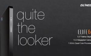 Gionee Elife E6, E5 specs with visual insight