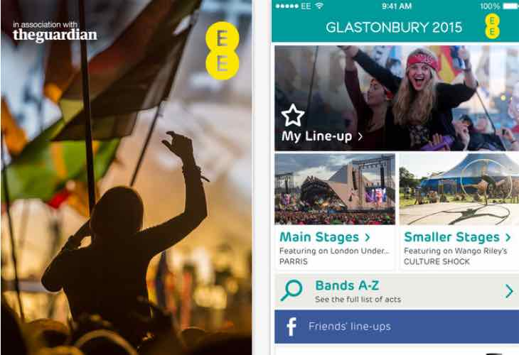 Glastonbury Festival 2015 schedule