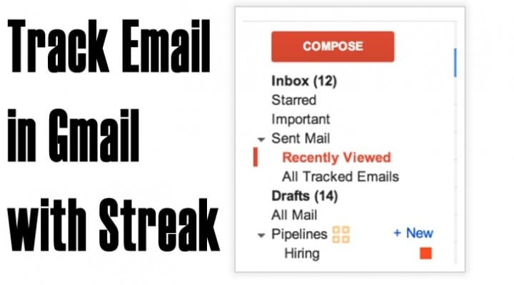 Gmail login with Streak email review