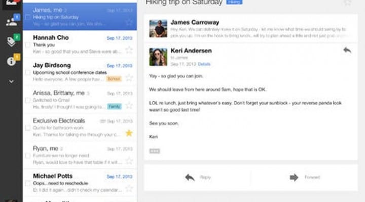 Gmail mobile sign in improves file issues