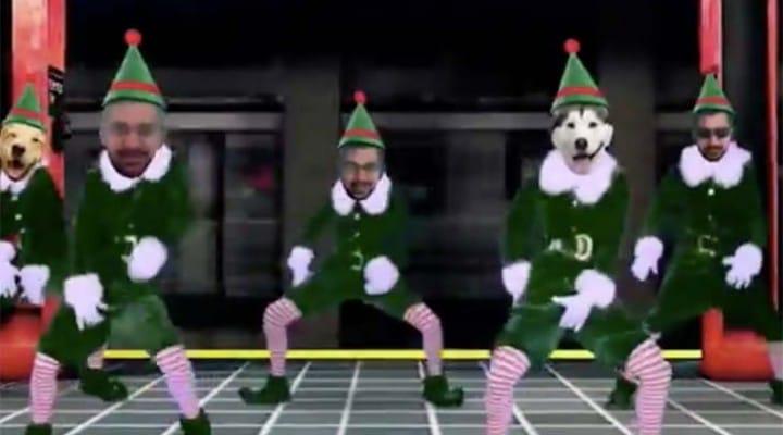 Free Elf Yourself Breakin dance in 2014 app