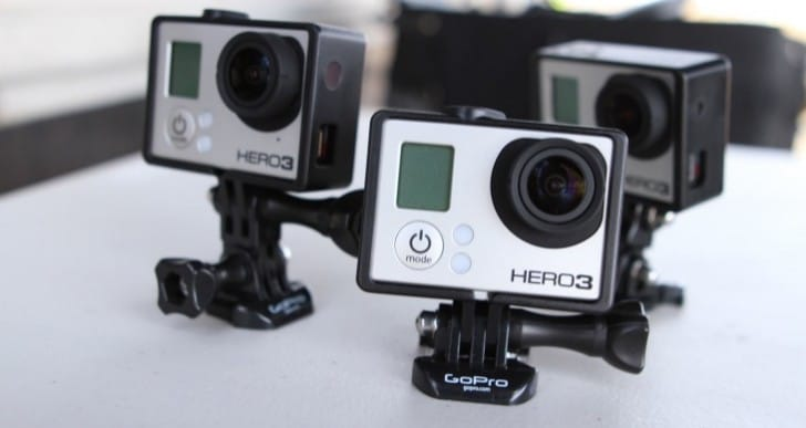 GoPro Hero 3 in 240fps slow motion tests
