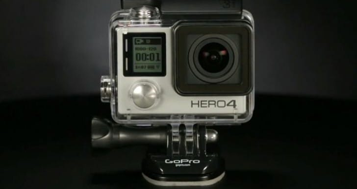 GoPro Hero 4 Vs 3+, Garmin VIRB and Sony AS100