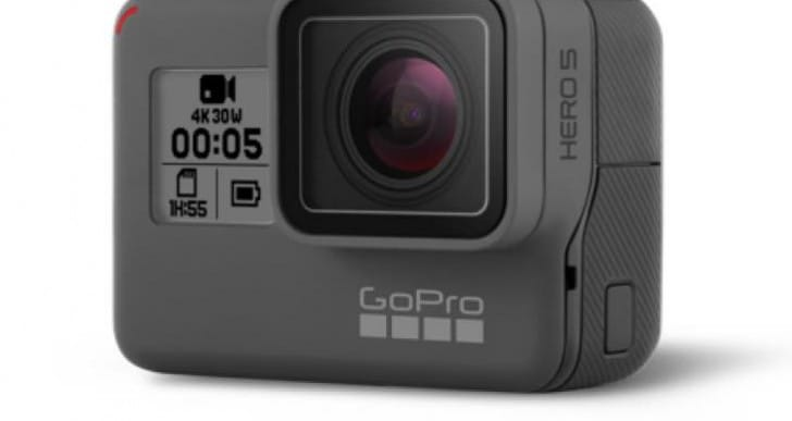 GoPro Hero 5 Black compatible with existing mounts