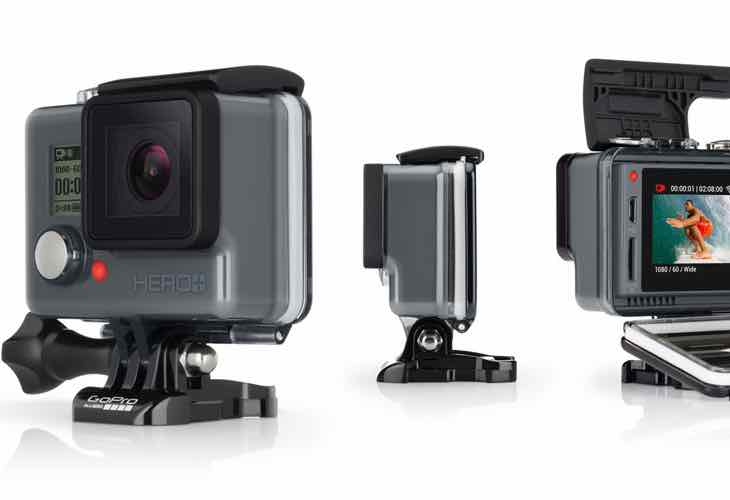 GoPro Hero+ LCD features