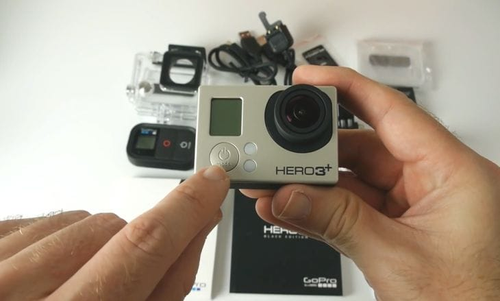 GoPro Hero3+ Black Edition unboxing